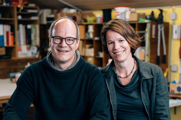 Reto und Tina Reusser - Ihre Ansprechpartner für Innendekoration